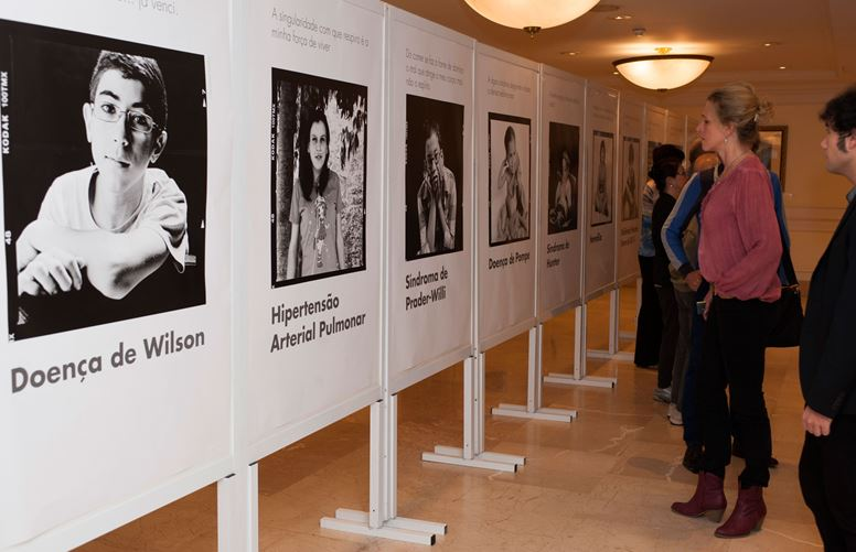 Photo exhibition of young people with rare diseases