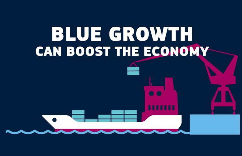 Animation on the blue economy